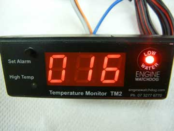 Low Coolant/TM-2 Combination Alarm