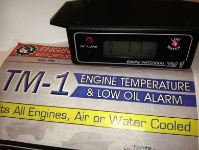 TM1 Combi Low Coolant/Temperature Alarm