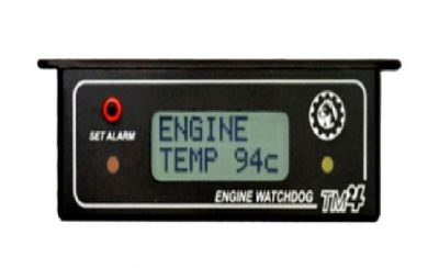 TM-4 Single Sensor Temperature Gauge/Alarm